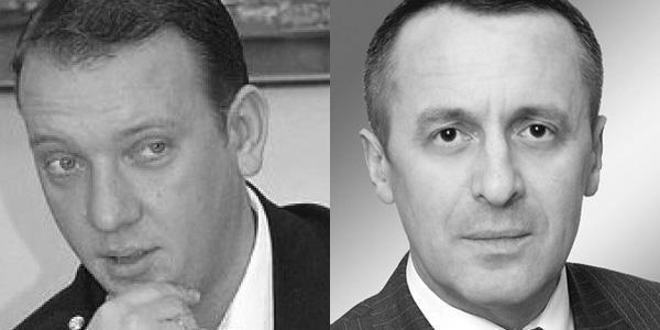 Юрий Крук и Сергей Крыжановский
