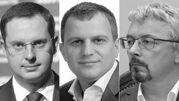 Ростислав Шурма, Николай Негрич, Александр Ткаченко