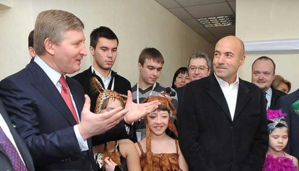 Ринат Ахметов и Игорь Крутой