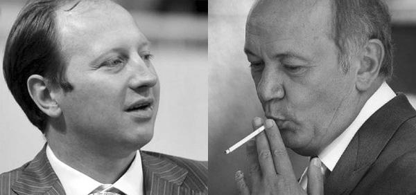 Сергей Дядечко и Юрий Иванющенко