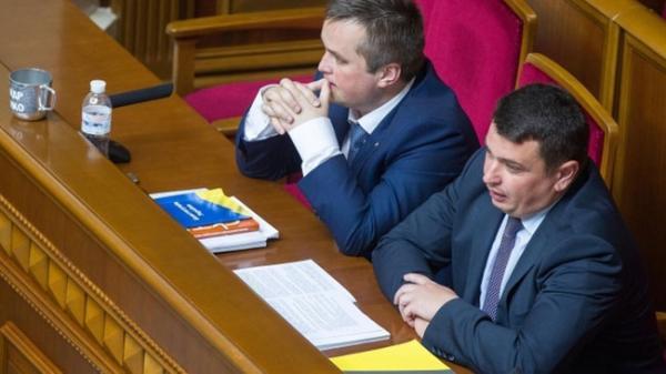 Назар Холодницкий (слева) и Артем Сытник