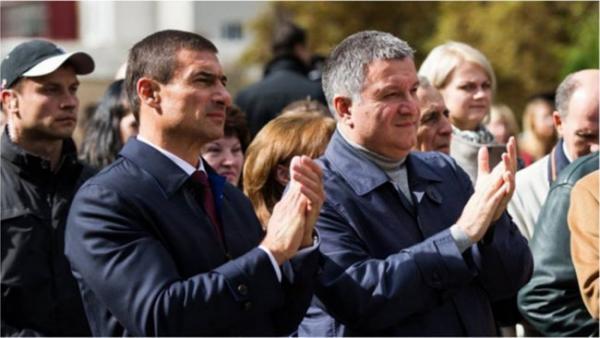 Игорь Котвицкий и Арсен Аваков