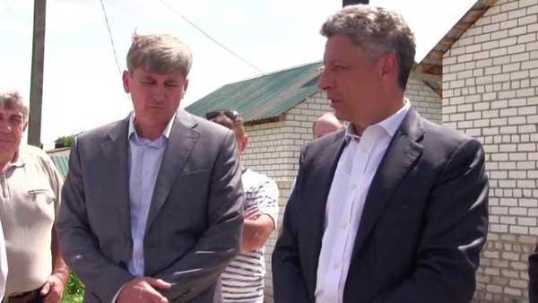 Борис Лебедев и Юрий Бойко