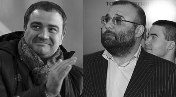 Андрей Павелко и Александр Петровсий-Нареклешвили