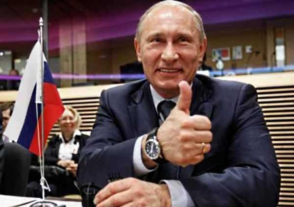 Вадим Ермолаев помог подельникам Путина. Путин, очевидно, доволен
