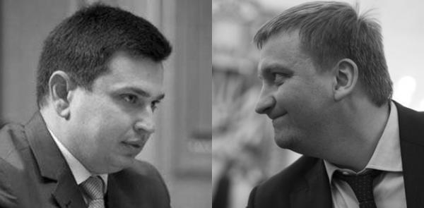 Артём Сытник и Павел Петренко
