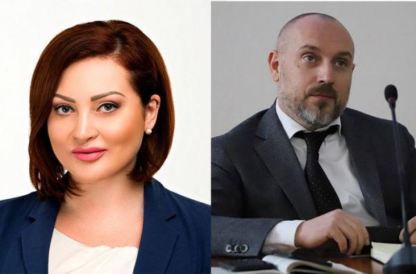 Ольга Варченко и Богдан Чобиток