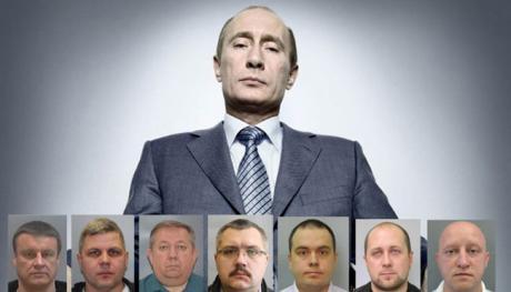 Владимир Путин и его агенты-отравители