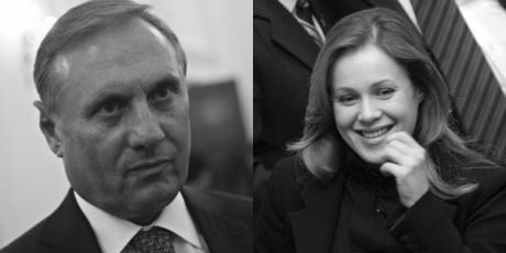 Александр Ефремов и Наталия Королевская