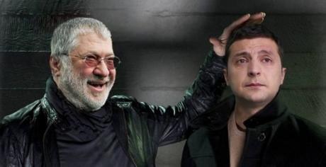 Игорь Коломойский и Владимир Зеленский