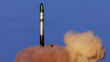 Тестовый запуск РС-28 Сармат