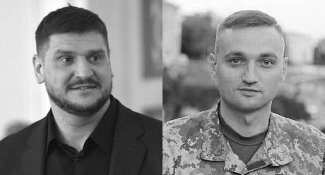 Алексей Савченко и Вячеслав Волошин
