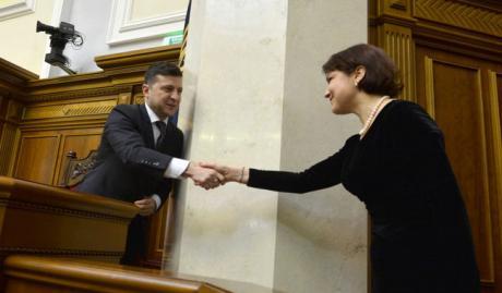 Владимир Зеленский и Ирина Венедиктова