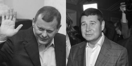 Сергей Клюев и Александр Онищенко