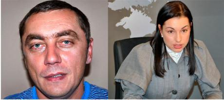 Андрей Недзельский и кинувшая его адвокат Лариса Криворучко