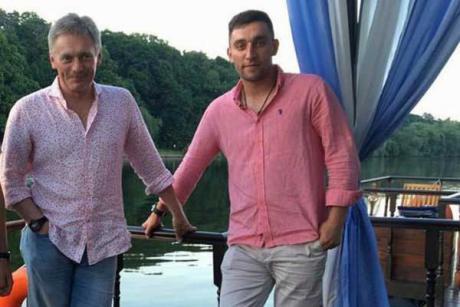 Дмитрий Песков и Николай Чоулз